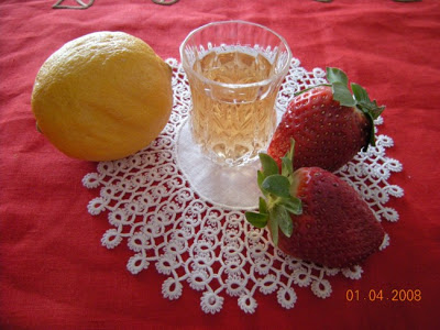 grappa alla fragola