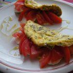 Omelette alla mediterranea!