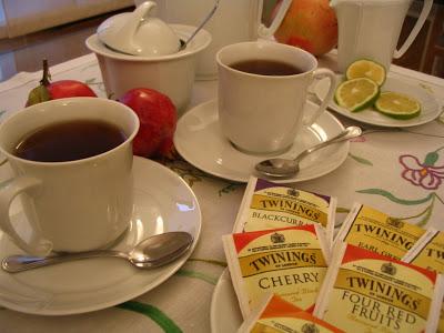 il tè delle cinque a casa di simo
