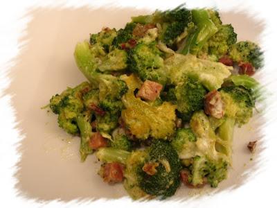 broccoletti allo speck