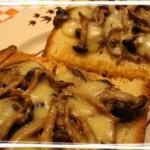 Crostoni ai funghi gratinati