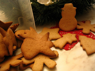 biscottini delle feste alla cannella