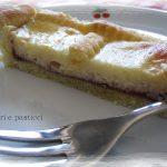 Crostata di ricotta e marmellata di ciliegie