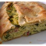 Strudel alle zucchine e speck della Imma