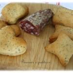 Biscottini salati al parmigiano e semi di papavero
