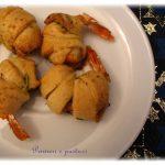 Involtini di gamberi ai pistacchi