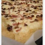 Pizza bianca di kamut ai profumi di montagna