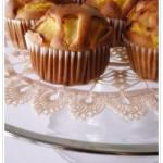 Piccoli muffins alle pesche noci per salutare l'estate