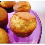 Muffins alle mandorle e arancia