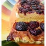 Crostata alle ciliegie e crema di biscotto