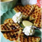 Waffles!!! Colazione…o merenda? Questo è il problema…