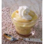 …e se avanza la crema pasticcera??? Coppette alle pesche, crema ed amaretto