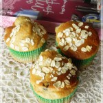 Muffins ai mirtilli rossi e all'arancia