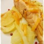 Salmone e finocchi all'arancia di Csaba