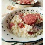 Orzotto allo spumante e cotechino…ricetta riciclosa!