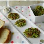 frittelline di zucchine e wurstel
