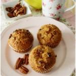 Muffins croccanti alla pera, per una colazione very slow….