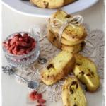 Biscottini gluten free alle bacche di Goji