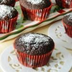 Muffins fondenti alle mandorle per augurarvi Buon 2013