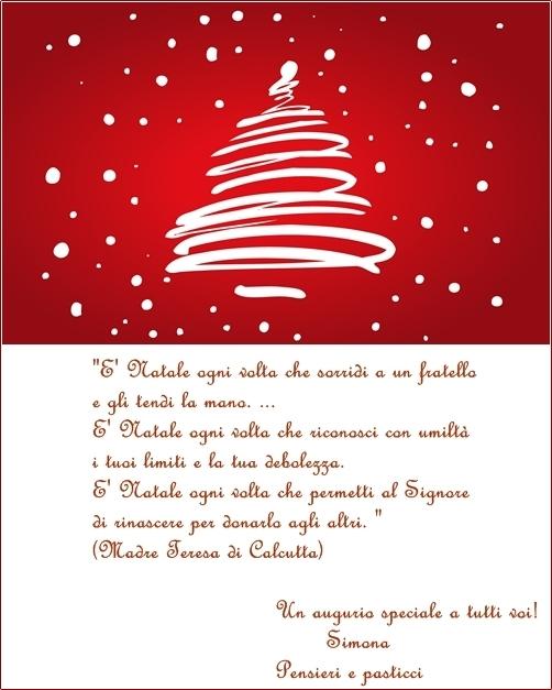 Auguri Piu Belli Di Natale.Biscotti Al Caffe Augurandovi Buon Natale Pensieri E