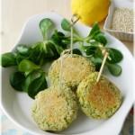Polpettine di quinoa e broccoletti, profumate al limone