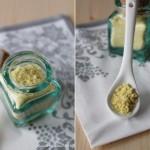 Polvere di zenzero e zucchero aromatizzato home made
