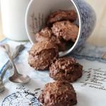Biscottoni rustici alla quinoa cacao e cannella
