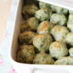 Gnudi ( o malfatti) agli spinaci, gratinati al forno