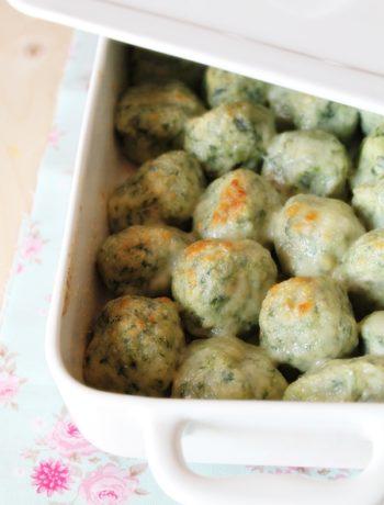 gnudi (o malfatti) agli spinaci
