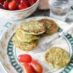 Frittelline alle zucchine e menta