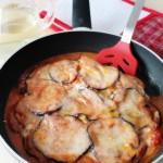 Io anti aderisco…parmigiana di melanzane, veloce, a modo mio, e…in padella!