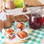 In cucina con il tè: in campagna, per un pic nic d'agosto