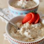Crema di riso dolce…e una mattinata con Alce Nero e i suoi risi bio