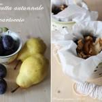 Frutta autunnale in cartoccio
