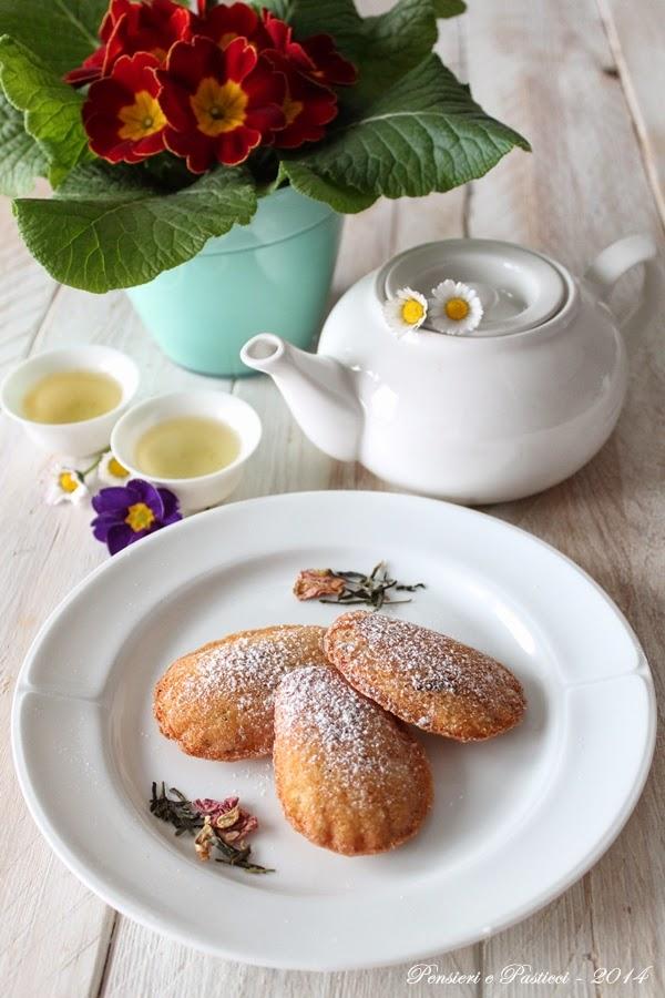 madeleines al tè