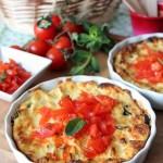 Ricotta al forno ai sapori mediterranei