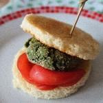 Piccoli hamburger in verde e…ben arrivato gustoSano!!