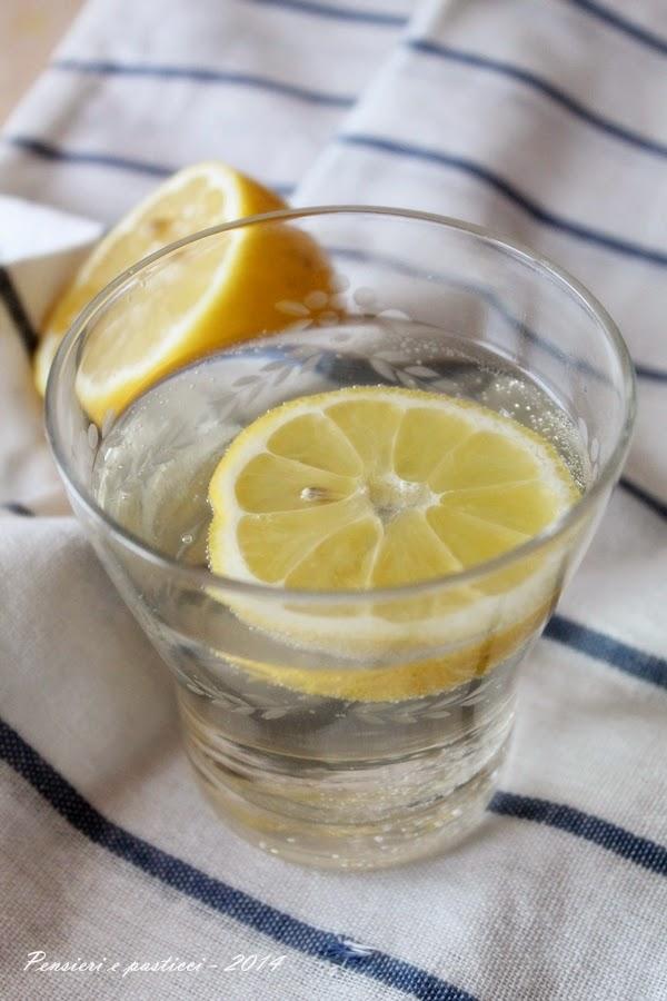 sciroppo di sambuco al limone