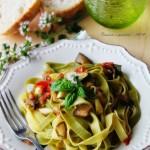 Paglia e fieno con verdure al forno, ricetta di Csaba