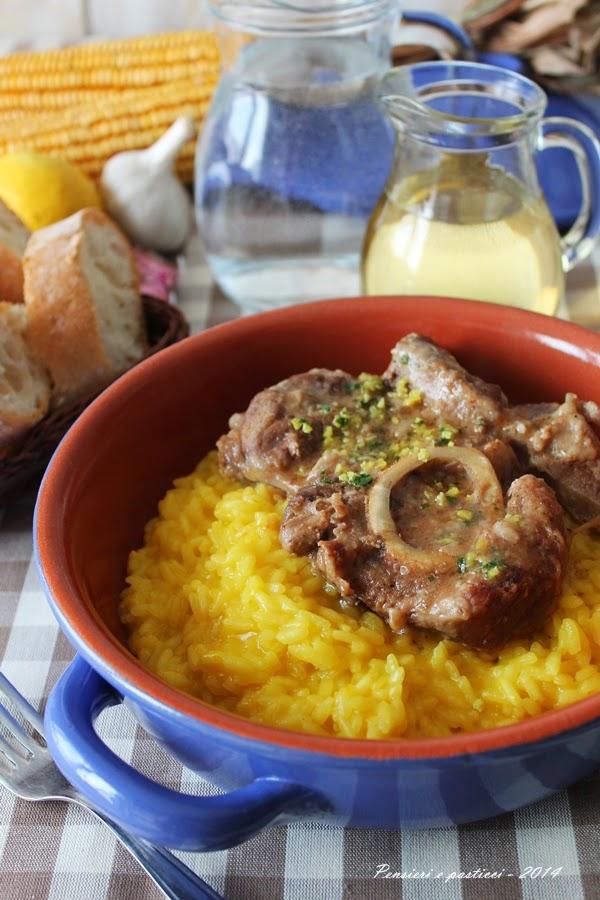 risotto giallo con ossobuco