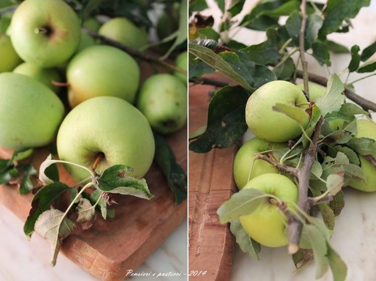 sfogliata alle mele e uvette al profumo di spezie