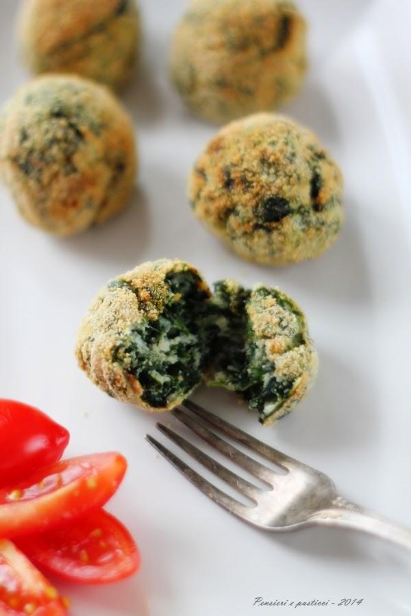 polpettine di ricotta e spinaci