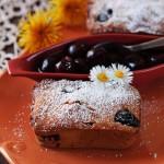 Mini cake al miele e amarene