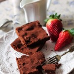Brownies peccaminosi alla ciliegia e rum