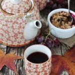 In cucina con il tè: settembre, dolci frutti d'autunno