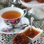 Tortini con gelatina agli agrumi profumati al tè Earl Grey