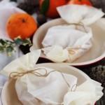 Cartoccio di arance con crumble di amaretti