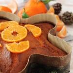 Torta soffice profumata alle clementine e vaniglia