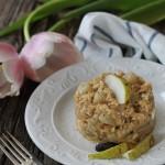 Risotto alla pera e tè Milky Chai profumato alla Fava Tonka, prima ricetta per il contest CreativiTea