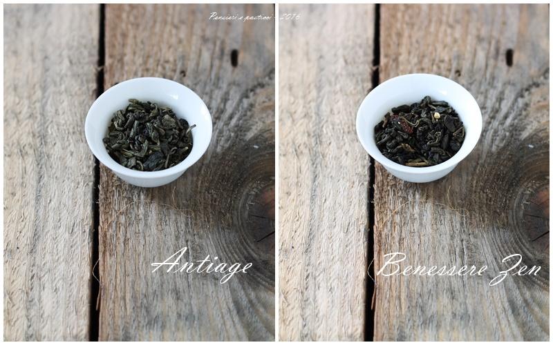 collage tè antiage e benessere zen